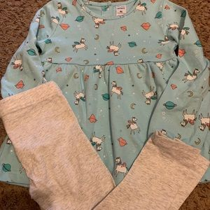 Carter's Unicorn Outfit